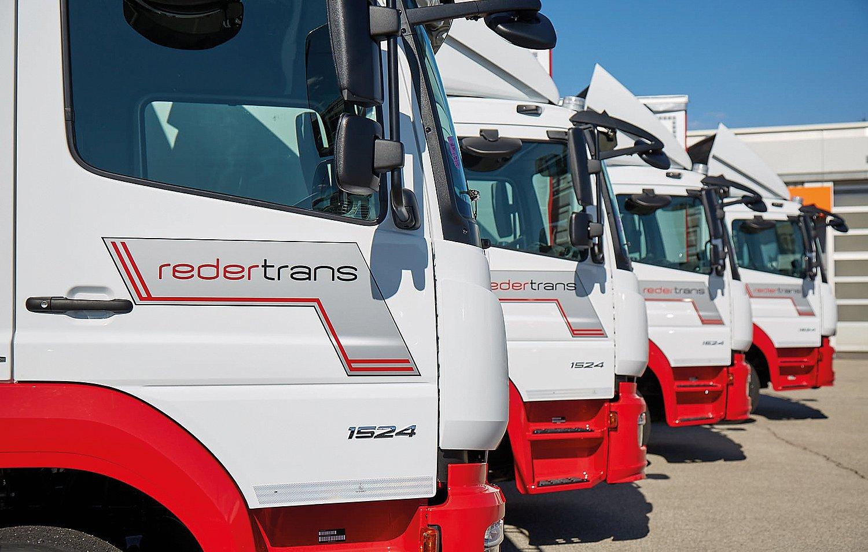 REDER Transporte - Verteilerfahrzeuge